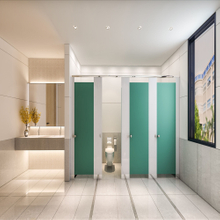 Brikley Phenolic HPL Toilet Partitions