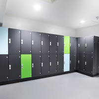Gym Lockers For High-end Condominium