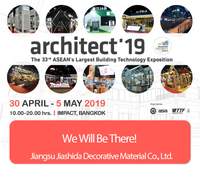 Meet us at The ARCHITECT 2019 in Bangkok